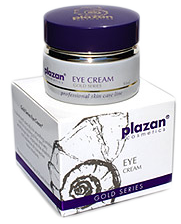 plazan natural skin care products: collagen cream